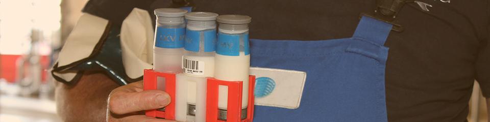 Labor 4.0 in der Milchindustrie: Digitale Hemmstoff-Analyse und Annahme-Freigabe